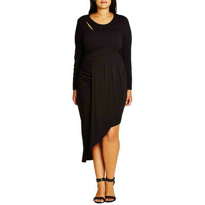 NEW WOMENS PLUS Size 18W 20W Nordstrom City Chic Wrapped Up ...
