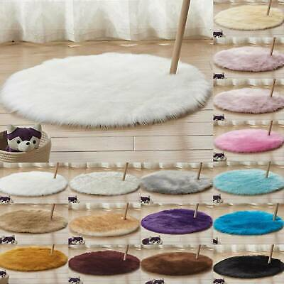 Soft Shaggy Area Small Rugs Windowsill Living Room Bedroom Anti-Skid Fluffy Mats
