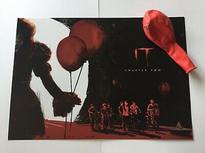 ODEON Exclusive IT Chapter 2 A4 Poster Part 2 of 2 and promo balloon!