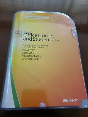 Microsoft Office Home And Student 2007 -  Licensed For 3 PC with product key