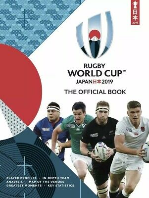 Japan 2019 Official Rugby Union  World Cup Programme/booklet