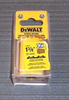 "3 pc. DeWALT  Heavy-Duty Hole Saws - Sizes 7/8"", 1-1/8"", 1-3/8"""