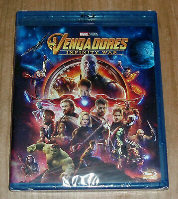 The Avengers Infinity War Blu-Ray New Sealed Action (Sleeveless Open) R2