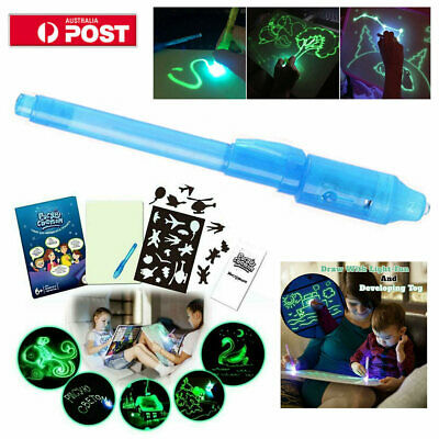 Draw With Light Fun And Developing Toy Drawing Board 3D Magic Draw Educational