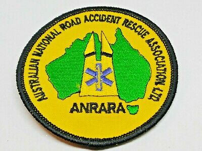 Collectable Australian National Road Accident Rescue Association Patch / Badge
