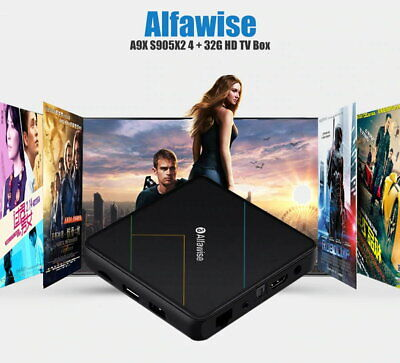Alfawise A9X S905X2 Android 9.0 4GB+32GB 4K Dual-band WiFi Smart TV Box