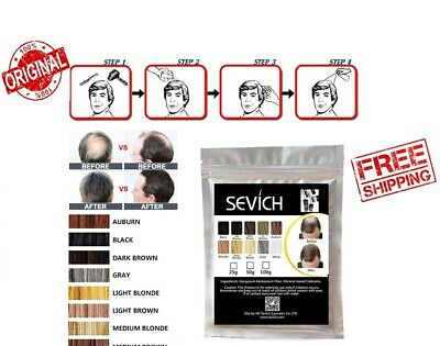 Sevich HAIR BUILDING Fibers Bulk Bag MANY COLORS SIZES Keratin FREE DELIVERY