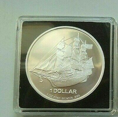 1 once argent silver BU 1$ dollar BOUNTY îles Cook 2013 COOK ISLANDS oz 9999