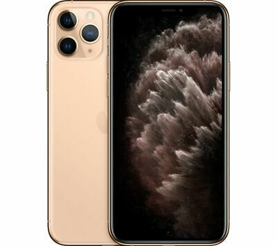 APPLE iPhone 11 Pro - 64 GB, Gold - Currys