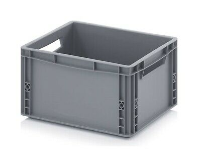Euro Containers 40x30x22 20l Stacking Storage Box Eurobox Stackable 400x300x220