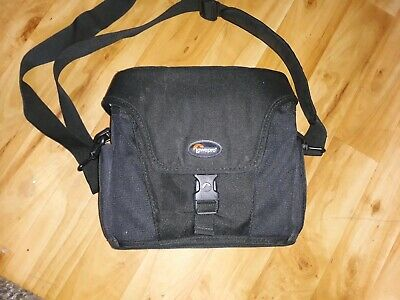 Lowepro Altus 160 Camera Bag Suit Dslr + Lenses With Internal Dividers Exc. Cond