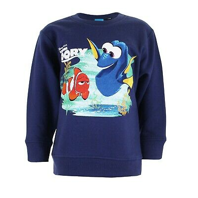 Finding Dory - Marlin and Dory - Kids Crew Sweater Jumper - Ages 5-10