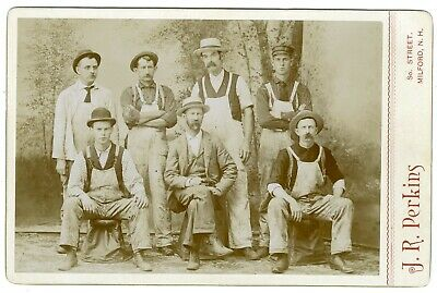 Painters Occupational Cabinet Card