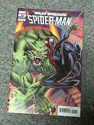 MILES MORALES: SPIDER-MAN #10 McGuinness 1:50 Incentive Variant Edition VF/NM
