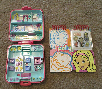 Vintage 1989 Bluebird Toys Polly Pocket Birthday Partytime Surprise Compact