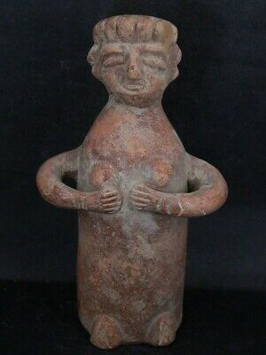 Ancient Teracotta Idol Figure Indus Valley 1000 BC #iK440