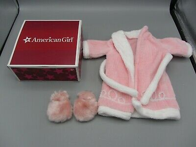NEW IN BOX Retired American Girl Emily/'s Pajamas AND Robe /& Slippers Set Molly
