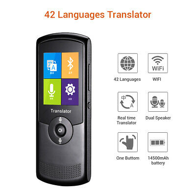 Wireless Wifi Translator Real Time Translation for Learning Business Shopping