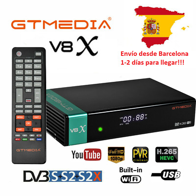 Gtmedia V8 Nova (New V8 Super) DVB-S2 Satellite TV Receiver Built Wifi Full HD