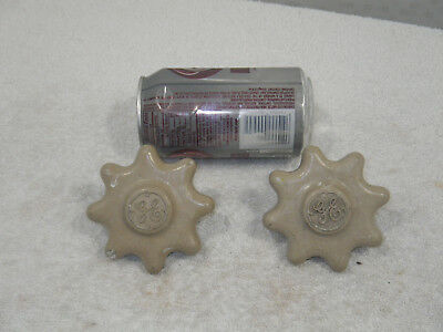 Vintage GENERAL ELECTRIC Industrial Control Knobs-GE-Power Plant Panel-STEAMPUNK