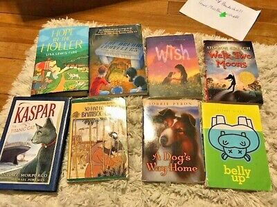 Lot of 8 chapter books RANDOM Children's Youth Early Readers Homeschool *Girls*