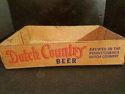 DUTCH COUNTRY Beer Brewing Country  READING, PA. Cardboard Can Container