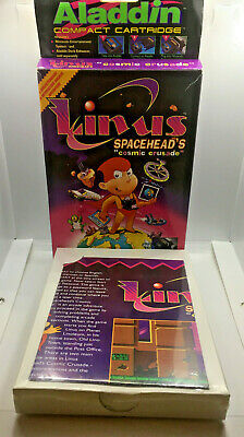 Linus Spacehead's Cosmic Crusade -Complete- For Aladdin Deck Enhancer & NES