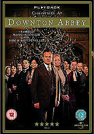 Christmas At Downton Abbey Maggie Smith Hugh Bonneville Universal Dvd New Sealed