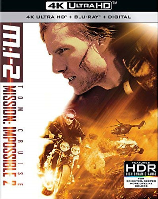 `CRUISE,TOM`-4K Blu-Ray - MISSION:IMPOSSIBLE 2 Blu-Ray NEUF