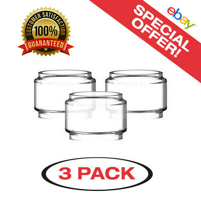 3 Pack of Prince 8ml Clear Extended Replacement Glass- Same Day USA Shipping!