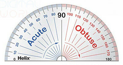 Helix Learning Protractor (Box of 25) Pack 25