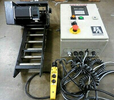"P/A Industries ADVANTAGE The Mini Servo Feed + SRF-105M Feeder/ Roller ""AS-IS"""