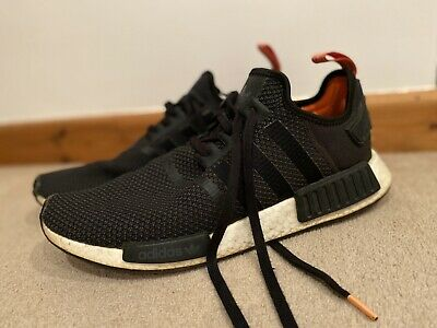 MENS ADIDAS NMD R1 Black Camouflage Running Trainers G28414