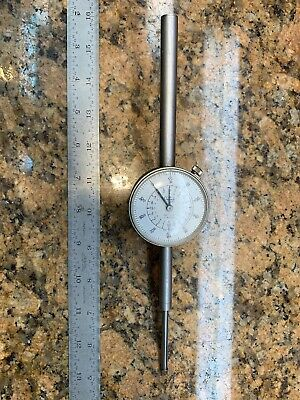 "Teclock Long Stem Dial Indicator A1-951D 0-2"" C438"