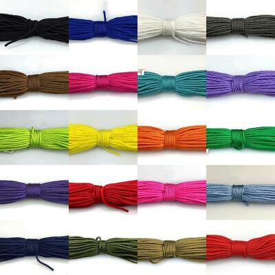 100 Feet 2mm Core Paracord Micro Cord Parachute Cord Tent Lanyard Rope Survival
