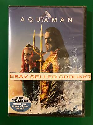 Aquaman DVD 2 DISCS {{{AUTHENTIC DVD READ DESCRIPTION}}} Brand New Free Shipping