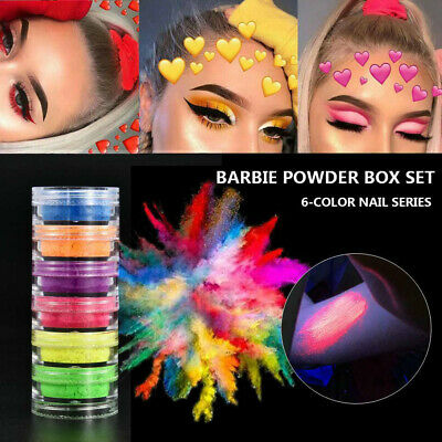 Shimmer Waterproof Matte Eyeshadow Eyeshadow Pigment Nail Powder Neon Powder HOT