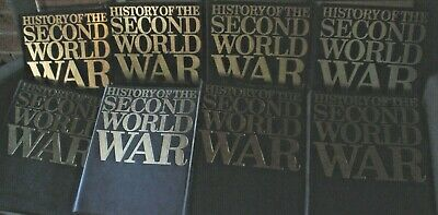 8 Vol Set History Of The Second World War 1000,S Pictures & Text See Photos