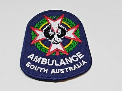 Collectable South Australia Ambulance Patch / Badge