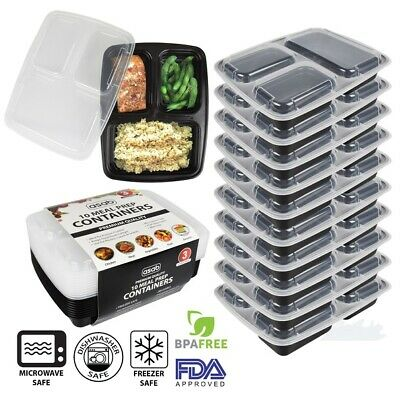 TAKE AWAY CONTAINERS & LIDS DISPOSABLE PLASTIC FOOD CONTAINER 800,850,1000ml
