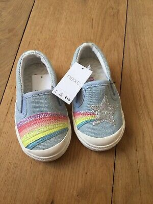 Next Girls Shoes Brand New With Tags Size 3 Infant