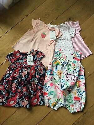 Next Baby Girls Brand New With Tags Clothes 3-6 Months