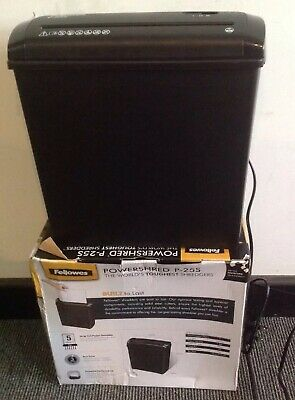 Fellowes Powershred P-25S Shredder, Fully Working With Box