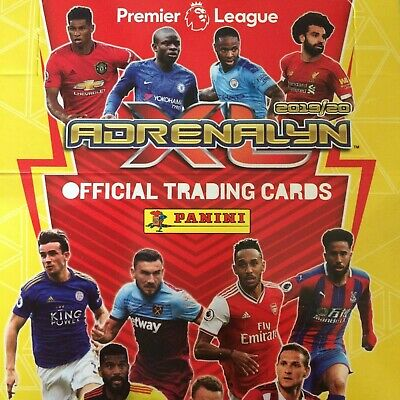 Panini Adrenalyn Xl Premier League 2019/20 18 Card Team Sets Buy 3 Get One Free