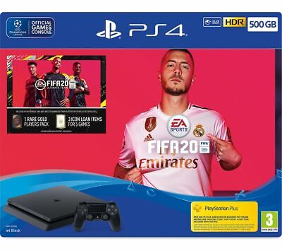 SONY PlayStation 4 with FIFA 20 - 500 GB