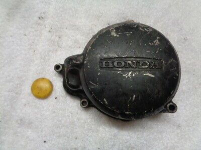 Honda Px50 Px 50 Stator Mounting Alloy Flywheel Cover Engine Casing