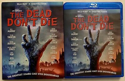 The Dead Don't Die Blu Ray + Slipcover Sleeve Free World Wide Shipping Horror