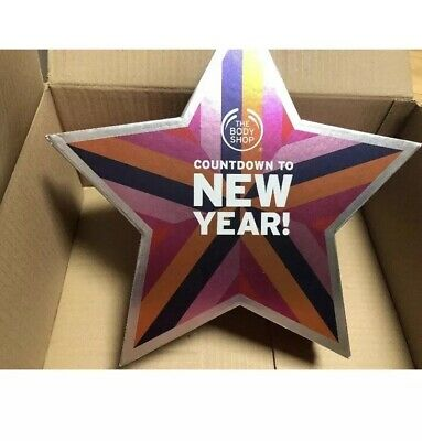 """The Body Shop Countdown To New Year Advent Calender """"EMPTY BOX ONLY"""" ❤️"""
