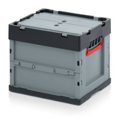Professional - Tank Collapse 40x30x32 with Lid Plastic Box Stackable Foldable