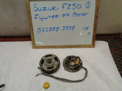 Suzuki Fz50 032000-2550 Stator And Flywheel Generator Magneto